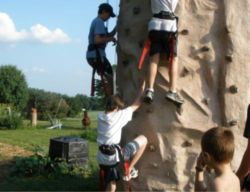 The climing wall can be booked for your next special event. We travel to Maryland and Northern Virginia