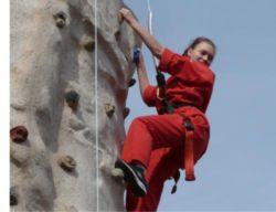 Portable climbing wall